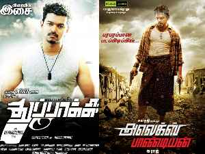 Alex Pandian fails to beat Vijay's Thuppakki!