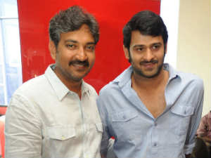 SS Rajamouli and Prabhas