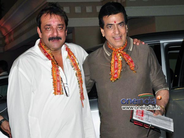 Jeetendra With Sanjay Dutt