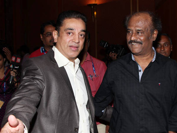 Kamal Hassan Welcomes Rajinikanth