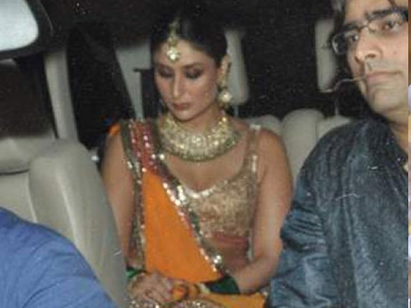 Kareena At Her Sangeet