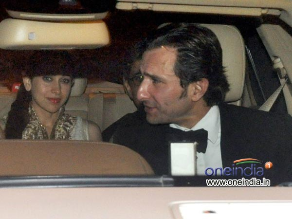 Karisma with Saif