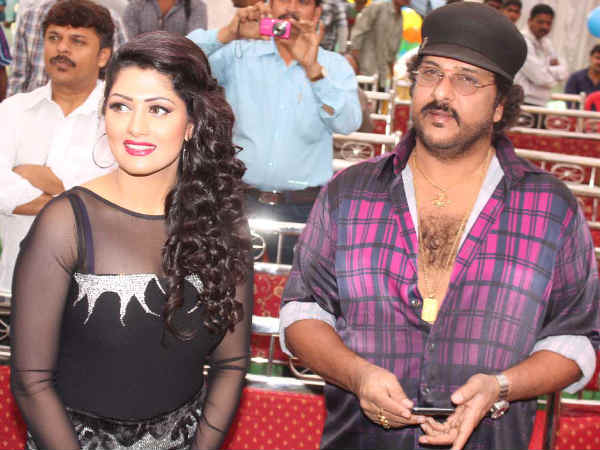 Radhika And Ravichandran