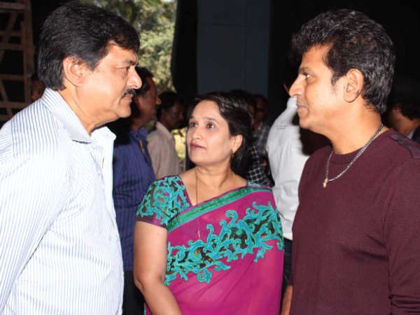 Jai Jagadish, Shivanna With His Wife