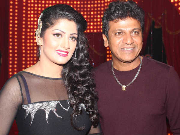 Radhika With Shivanna
