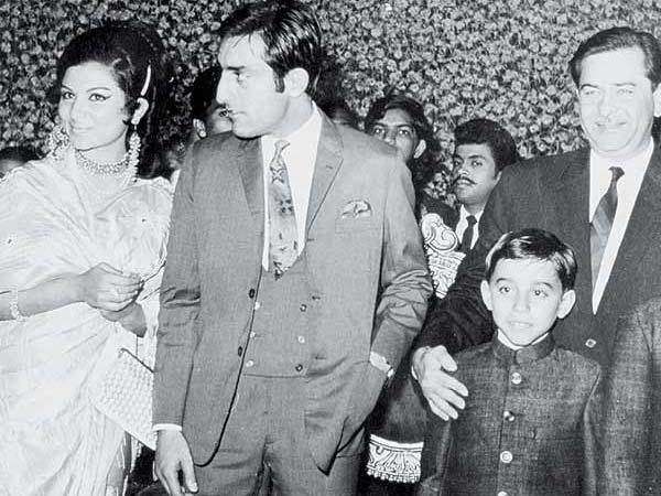 Pictures | Sharmila Mansoor Pataudi Wedding | Saif Ali ...
