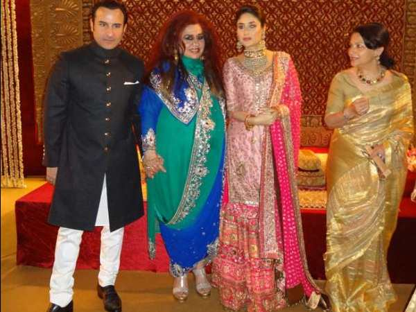 Saif Kareena At Dawat-E-Walima