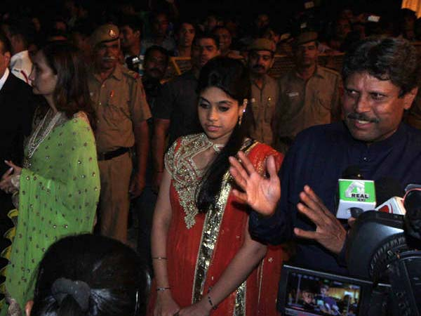 Kapil Dev At Dawat-E-Walima