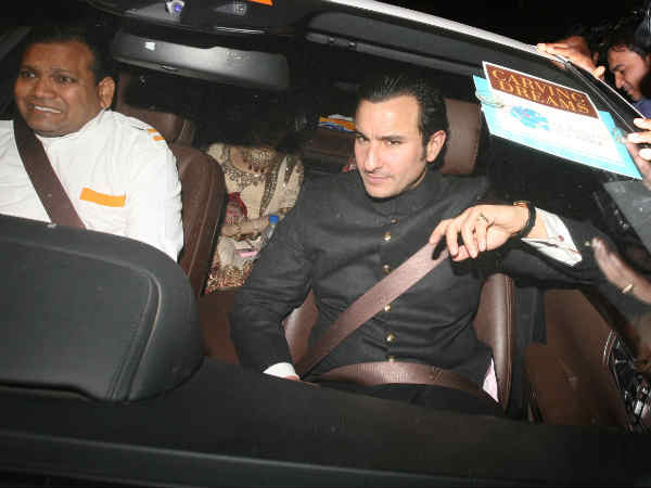 Saif-Kareena At Dawat-E-Walima