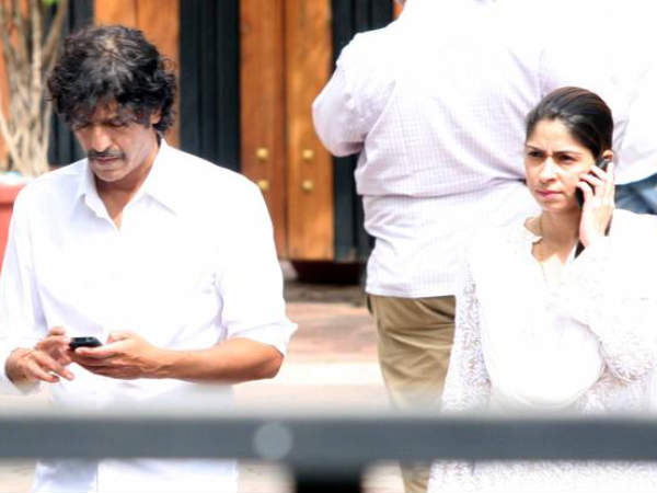 Chunky Pandey And Wife