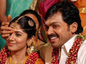 Karthi set to welcome his first baby