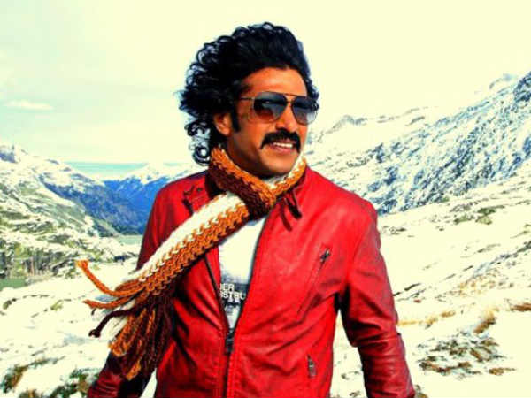 Upendra In Swiss For Topiwala Shoots