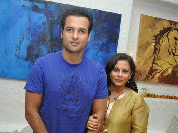 Rohit Roy At Art Exhibition