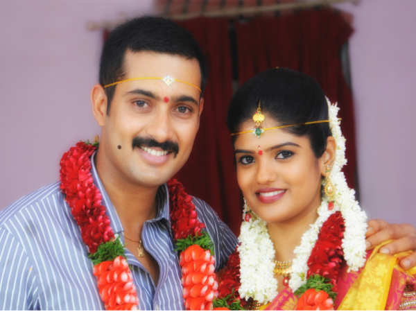 Uday Kiran and Visitha's marriage pictures