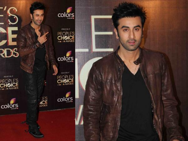 Ranbir At People's Choice Awards