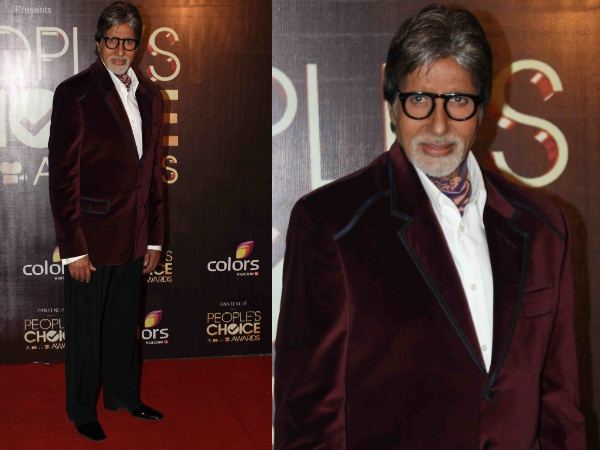 Big B At People's Choice Awards