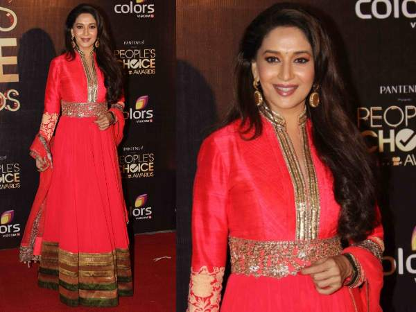 Madhuri At People's Choice Awards