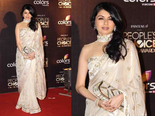 Bhagyashree At People's Choice Awards