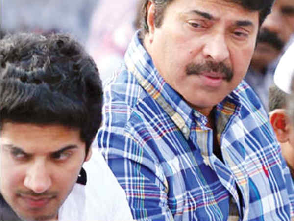 Mammootty and Dulquar Salman