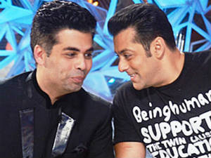 Karan  is scared of Salman!