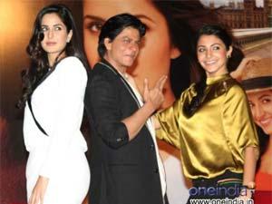 SRK praises Anushka, neglects Katrina!