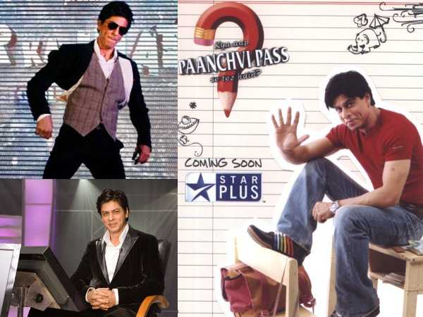 SRK As Television Host