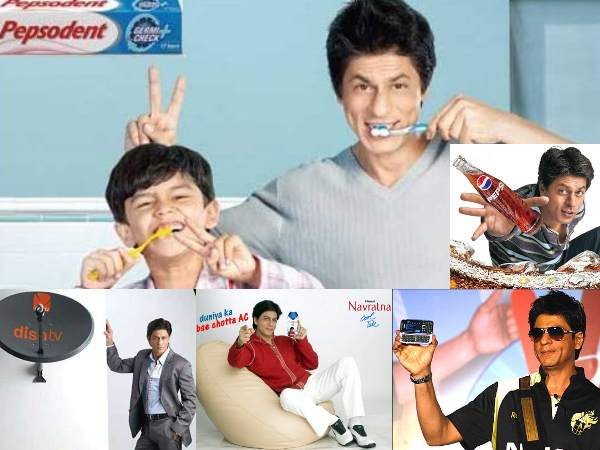 Brand SRK - Endorsements