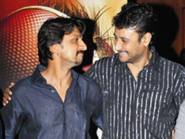 Sudeep And Darshan