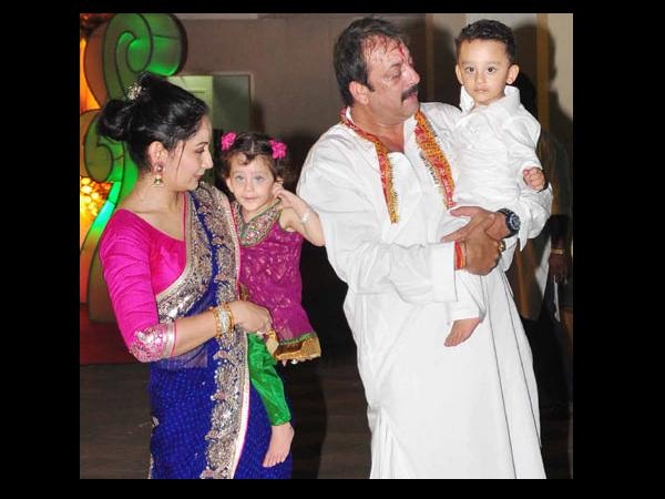 Sanjay With His Family