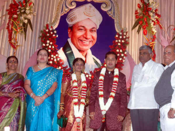 Dr Raj's Granddaughter Marriage Picture