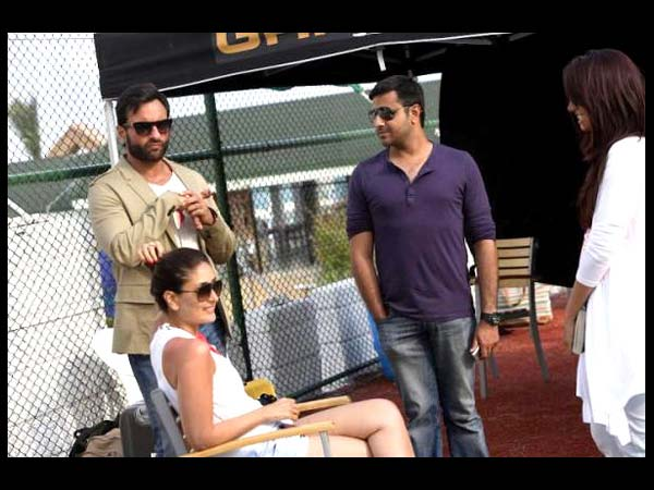 Kareena On The Sets Of Race 2