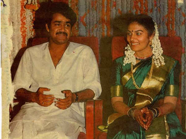 Mohanlal At His Wedding