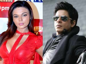 Rakhi Sawant and Shahruklh Khan