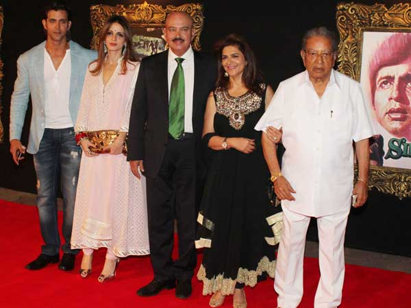 Hrithik And His Family