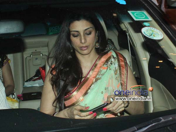 Tabu On Her Way To The Party!