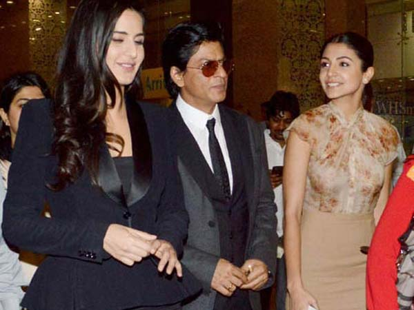 SRK-Katrina-Anushka at airport