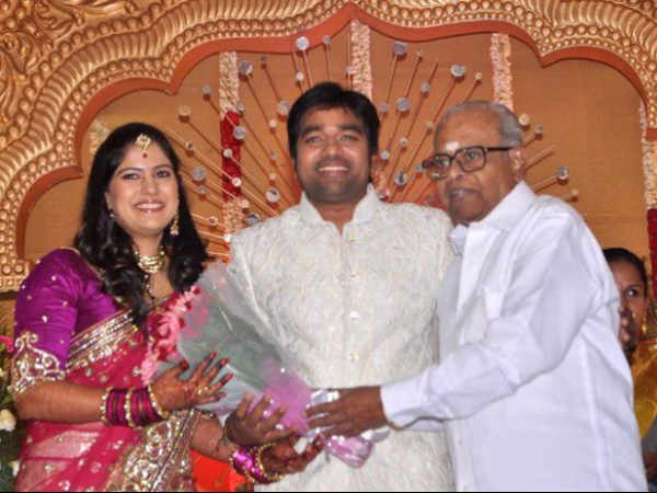 K Balachander Greets The Newly Married