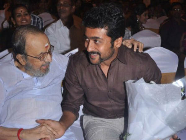 Lyricist Vaali With Surya