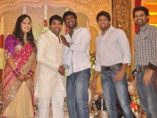 Vishal, Arya Wish The Newly Married