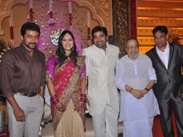 Surya And Vaali Wish The Newly Married