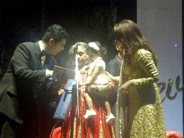 Aaradhya At Her Mom Ash's Birthday Bash