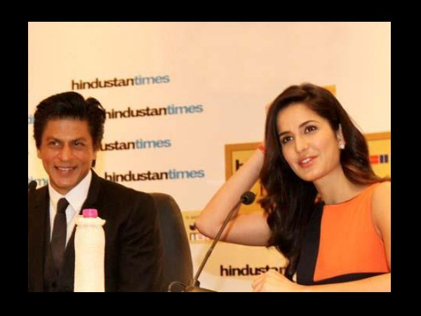 Shahrukh With Katrina