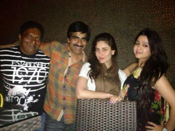 Kareena and Ravi Teja