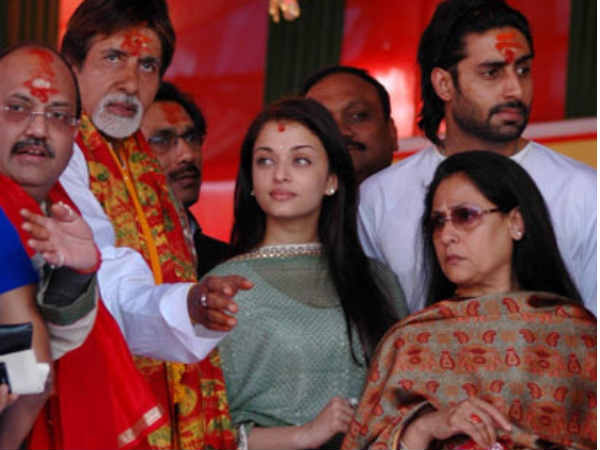 Aish With Family