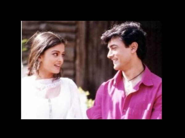Aamir And Aishwarya - A Cute Couple
