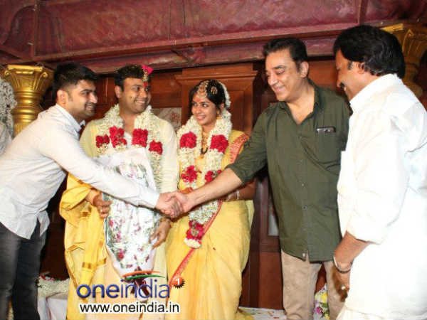 Kamal Hassan Wishes Newly Married