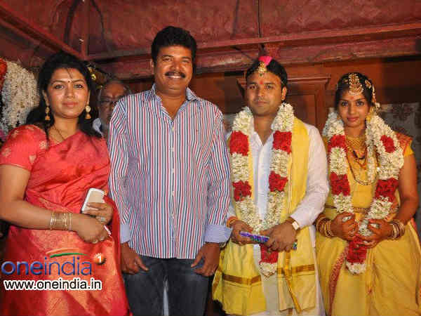 Shankar With Newly Married