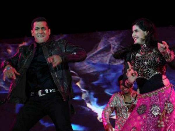 Salman And Zarine Khan