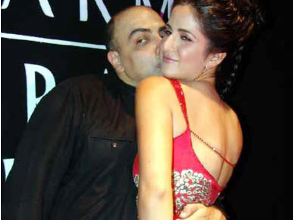 Katrina Kaif With Tarun Tahiliani