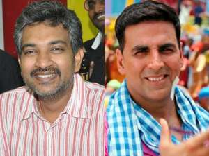 SS Rajamouli and Akshay Kumar